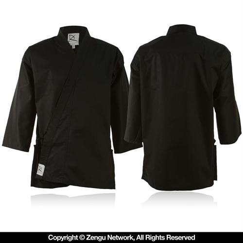 KD Elite Lightweight Black Karate Jacket